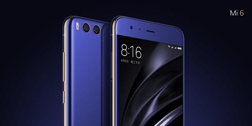 Xiaomi анонсировала топовый смартфон Mi 6
