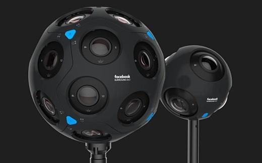 Facebook показала две новые 360-градусные камеры