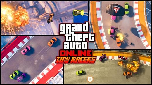 В GTA Online появятся ретро-гонки Tiny Racers