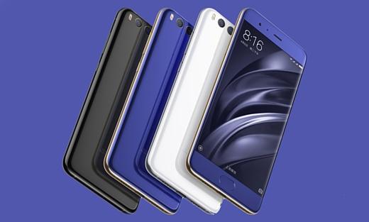 Xiaomi будет продавать Mi 6 в 11 цветах