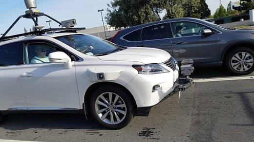 Неофициально: фото автономного Lexus Apple