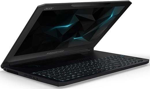 Acer анонсировала мощный игровой ноутбук Predator Triton 700