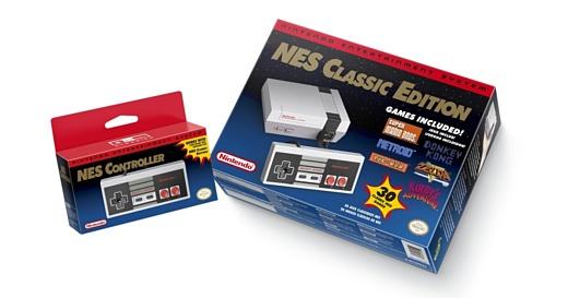 Nintendo продала 2.3 млн ретро-приставок NES Classic Edition
