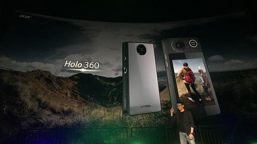 Acer анонсировала VR-камеру Holo 360 с поддержкой сотовой связи