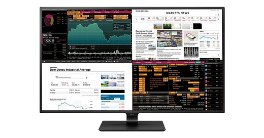 LG представила 42.5-дюймовый 4K-монитор