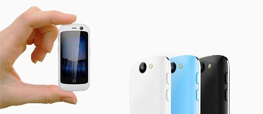 Jelly — самый маленький в мире 4G-смартфон