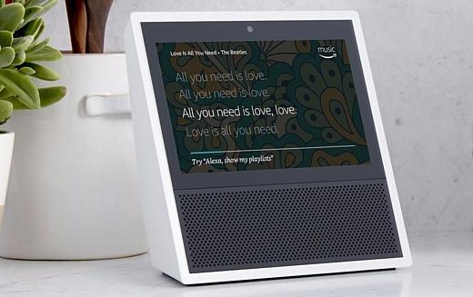 Amazon представила умную колонку Echo Show с 7-дюймовым экраном
