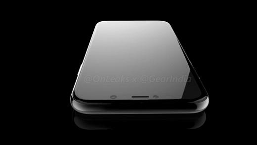 Опубликованы новые рендеры iPhone 8 от @OnLeaks