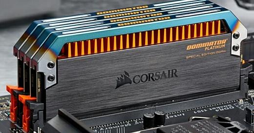 Corsair выпустила сверхскоростную DDR4-память Dominator Platinum Special Edition Torque