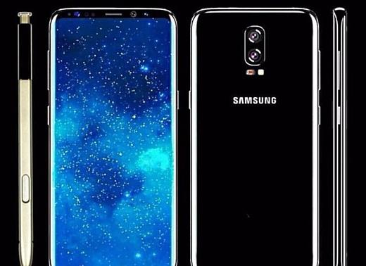 Слух: Samsung Galaxy Note 8 получит 6.3-дюймовый дисплей и двойную камеру