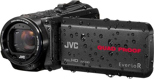 JVC анонсировала новые защищенные видеокамеры GZ-R550 и GZ-R440