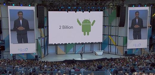 Количество устройств с Android достигло 2 млрд