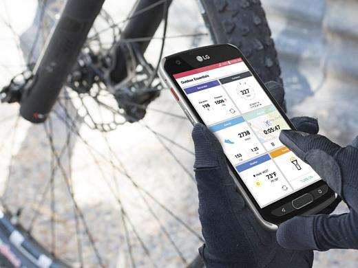 LG представила защищенный смартфон X venture