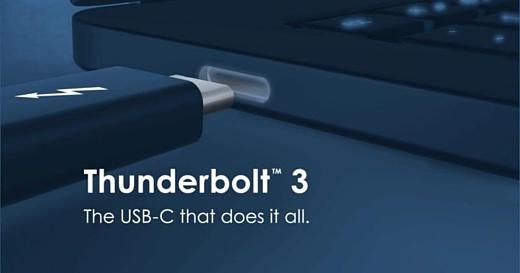 Intel сделала стандарт Thunderbolt 3 бесплатным