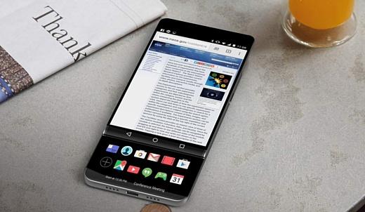 Эван Бласс показал ранние концепты слайдера LG V30