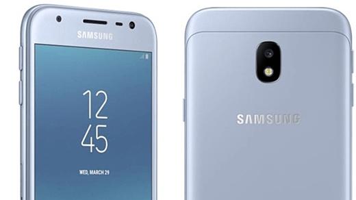 Утечка: фотографии и характеристики Samsung Galaxy J3 (2017)