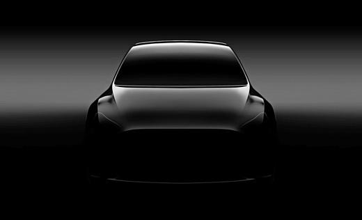 Tesla показала тизер нового авто Model Y