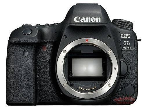 Утечка: фотографии Canon EOS 6D MK II