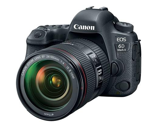EOS 6D MK II — новая топовая «зеркалка» Canon стоимостью в $2000
