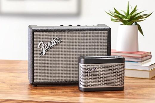 Fender анонсировала новые Bluetooth-колонки