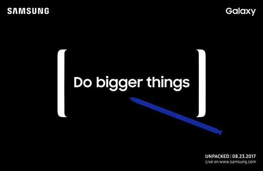 Samsung анонсирует Galaxy Note 8 23 августа