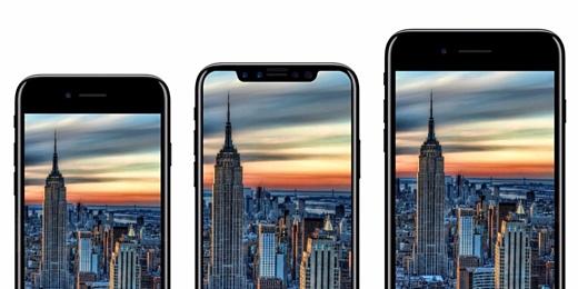 iPhone 8 попал на видео