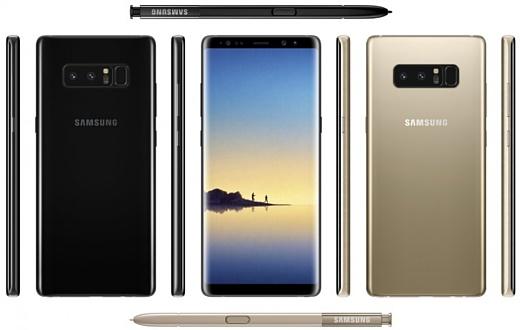 Samsung Galaxy Note 8 появился в базах GFXBench и AnTuTu