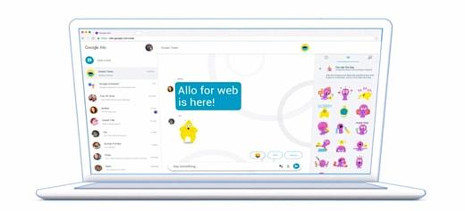 Google выпустила клиент Allo для персональных компьютеров