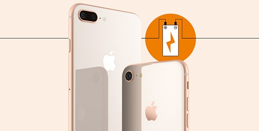 Емкость аккумуляторов iPhone 8 стала еще меньше