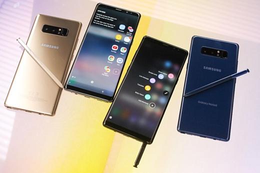 Samsung начала продажи Galaxy Note 8 в 42 странах