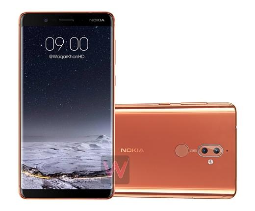 Утечка: рендеры Nokia 9