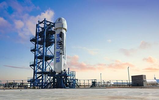 Blue Origin может начать отправлять туристов в космос уже в 2019 году