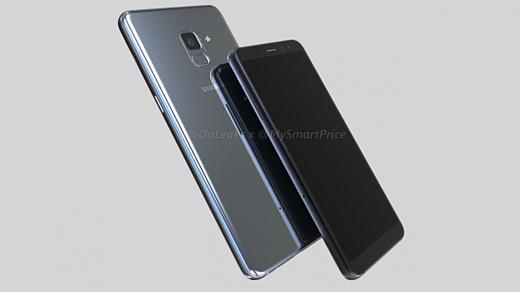 Утечка: рендеры Samsung Galaxy A5 и Galaxy A7 (2018)