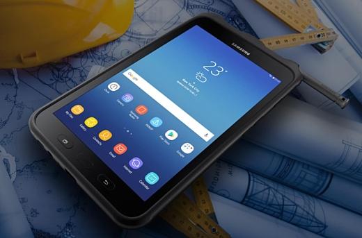 Samsung показала новый защищенный планшет Galaxy Tab Active 2