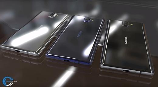 Дизайнер создал видео с Nokia 9 на основе утечек