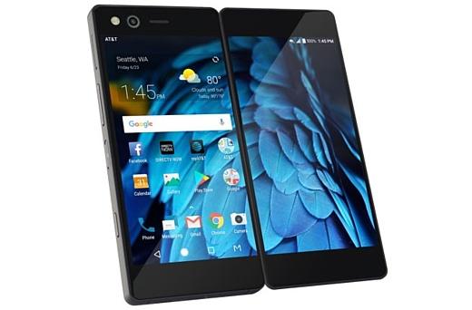 ZTE анонсировала складной смартфон Axon M с двумя экранами
