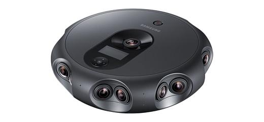 Samsung показала профессиональную VR-камеру 360 Round