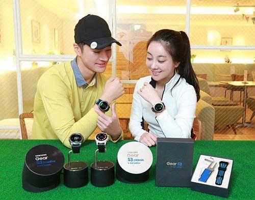 Samsung выпустила Gear S3 для любителей гольфа