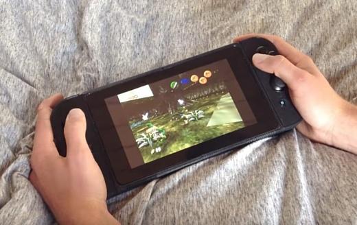 Энтузиаст собрал дома собственную версию Nintendo Switch