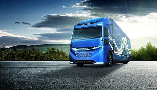 Daimler показала собственный электрический грузовик