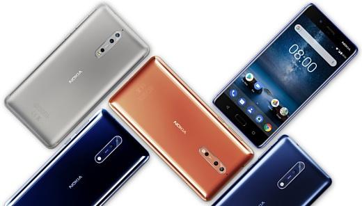 Для Nokia 8 выпустили бета-версию Android Oreo