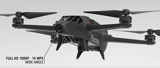 Parrot представила два новых профессиональных дрона