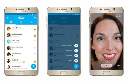 Skype для Android скачали больше миллиарда раз