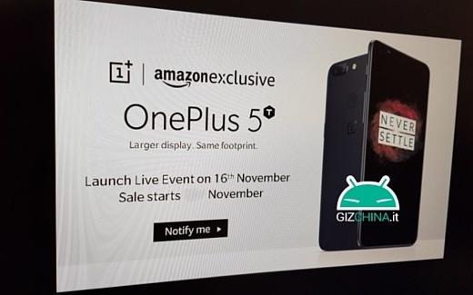 Слух: запуск OnePlus 5T состоится 16 ноября