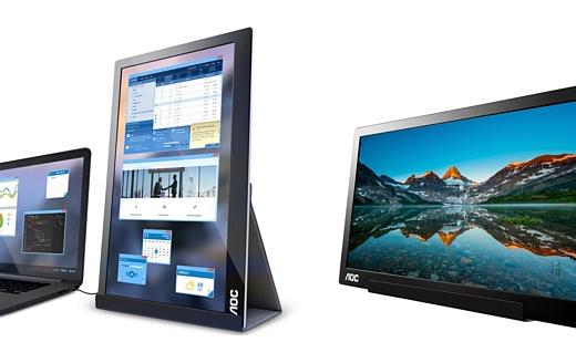 AOC выпустила внешний USB-C монитор для ноутбуков