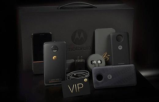 Motorola отметила 45-летие своих мобильников выпуском Moto Z 2018