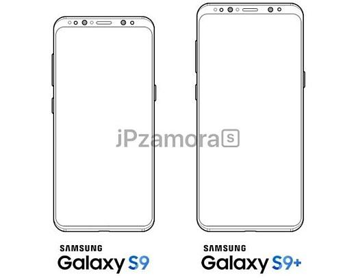 Утечка: дизайн Samsung Galaxy S9 немного изменится