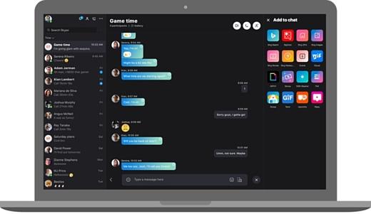 Microsoft обновила дизайн настольного Skype