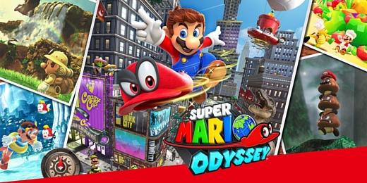 Nintendo продала 2 млн копий Super Mario Odyssey за 3 дня