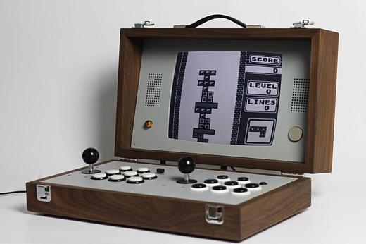Cary42 — портативный аркадный автомат для богатых энтузиастов